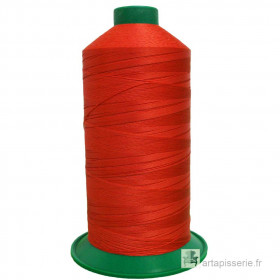 Bobine de fil ONYX N°60 (121) Orange 1333 - 6000 ml - Mercerie