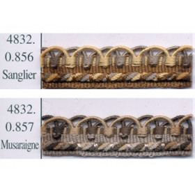 Crête Samarkand 12 mm, le mètre Collection 48 IDF