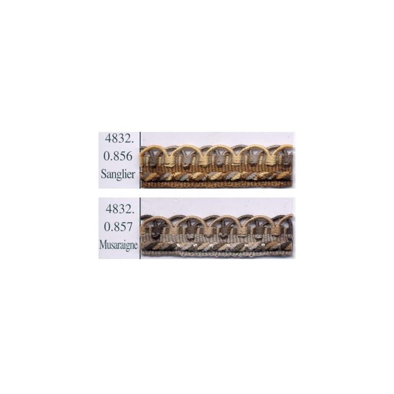 Crête Samarkand 12 mm, le mètre Collection 48 IDF - Passementerie