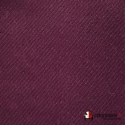 Tissu obscurcissant boréal prune Sotexpro grande largeur