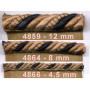 Corde sur pied Samarkand 12 mm, le mètre Collection 48 IDF - Passementerie