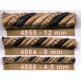 Corde Samarkand 4,5 mm sur pied - le mètre - Passementerie