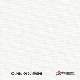 Tissu Collège Non Feu M1 Nacre 140 cm, le rouleau de 50 mètres - Tissus ameublement