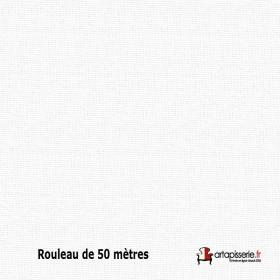 Tissu Collège Non Feu M1 Blanc 280 cm, le rouleau de 50 mètres - Tissus ameublement