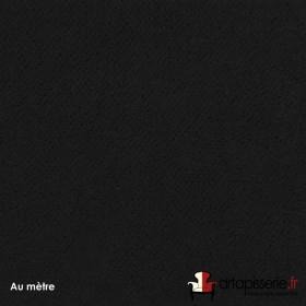 Tissu Crocvyl2 Non Feu M1 460/m2 Noir, le mètre - Tissus ameublement