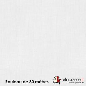 Voilage Polyester Etamine Blanc, rouleau de 30 mètres - Tissus ameublement