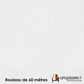 Voilage Polyester Etamine Blanc, rouleau de 60 mètres - Tissus ameublement