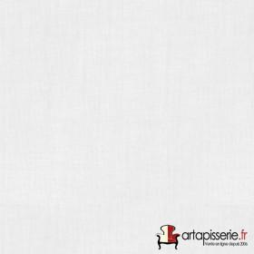 Voilage Polyester Etamine Blanc Non Feu M1 au mètre - Tissus ameublement