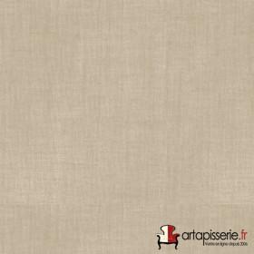 Voilage Polyester Etamine Ficelle Non Feu M1 au mètre - Tissus ameublement