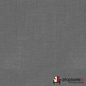 Voilage Polyester Etamine Anthracite Non Feu M1 au mètre - Tissus ameublement