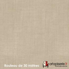 Voilage Polyester Etamine Ficelle, Rouleau de 30m - Tissus ameublement