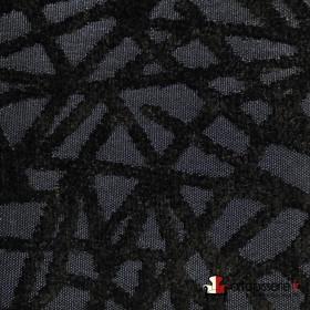 Tissus Froca - Gabanna 08 Noir/noir - Tissus ameublement