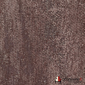 Tissus Froca - Galaxy 04 Marron, Au mètre - Tissus ameublement