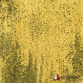 Tissus Froca - Galaxy 09 Jaune, Au mètre - Tissus ameublement