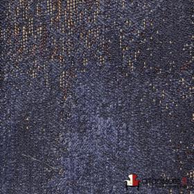 Tissus Froca - Galaxy 12 Marine, Au mètre