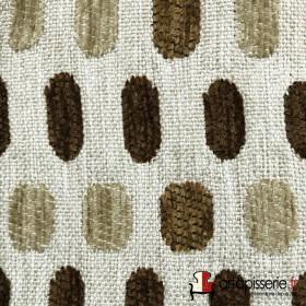 Tissus Froca - Bassano 01 Beige et marrons - Tissus ameublement