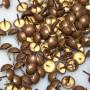 1000 Clous tapissiers Vieilli Bronze moyen 14 mm - Clous tapissier