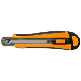 Cutter Fiskars Pro Usage Intensif 18 mm 1398 - Outils tapissier