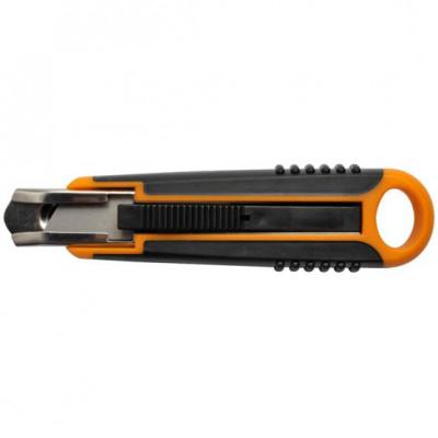 Cutter de sécurité Fiskars 18 mm - Lame trapézoïdale 1393C