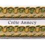 Crête Annecy - 12 mm144 coloris - le mètre