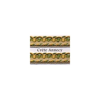 Crête Annecy - 12 mm 144 coloris - le mètre