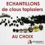 Echantillons Clous tapissier