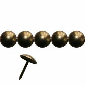 Clous Lentille Fer - Or vieilli 9,5 mm