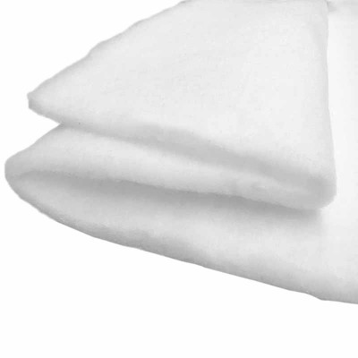 Ouate polyester 200 g/m2. Largeur 80cm, au mètre