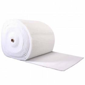 Ouate polyester 200 g/m2. Largeur 80cm, le rouleau de 30m - Fournitures tapissier