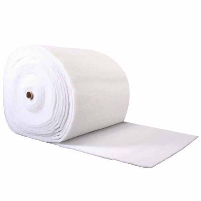 Ouate polyester 200 g/m2. Largeur 80cm, le rouleau de 30m