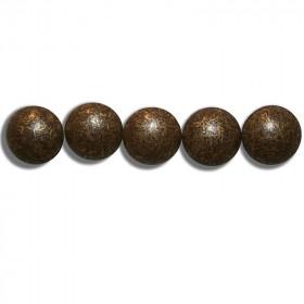 Clous Perle Fer Bronze Vieilli Moyen 11mm