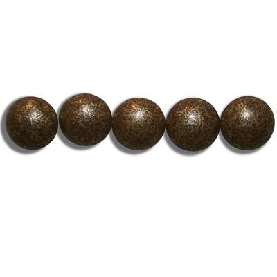 1000 Clous tapissier Bronze Vieilli Moyen 11mm