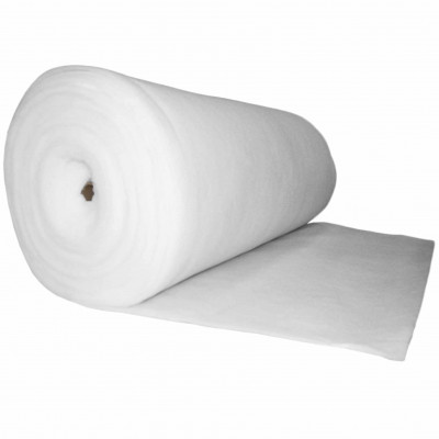 Ouate polyester 100 g/m2 - Largeur 160 cm Oeko Tex - Rouleau de 40m - Fournitures tapissier