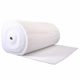 Ouate polyester 150 g/m2 - 10 mm Largeur 160cm - rouleau de 40 mètres à 78,24 €