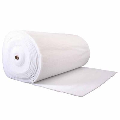 Ouate polyester 150 g/m2 - 10 mm Largeur 160cm - rouleau de 40 mètres