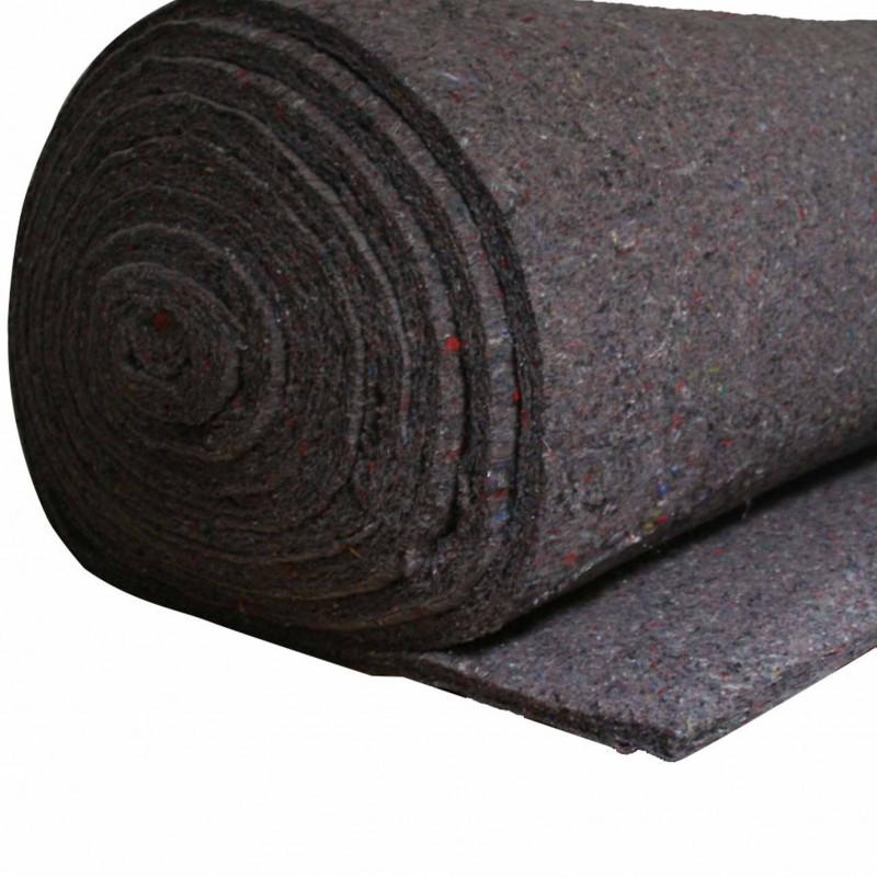 Ouate grise en 120 cm, rouleau de 7kg (environ 10m) - Fournitures tapissier
