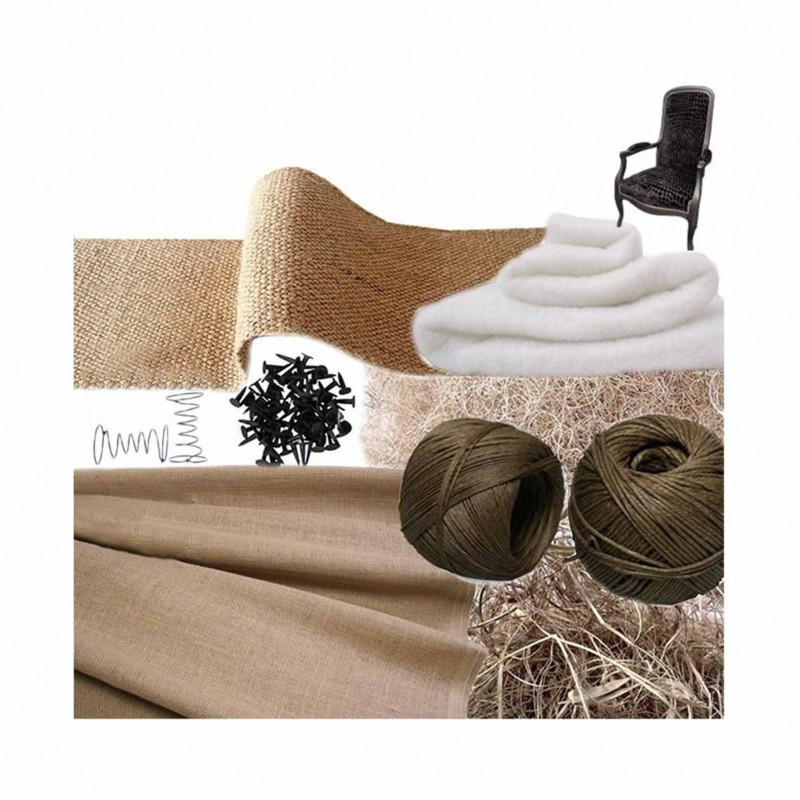Kit Voltaire traditionnel avec ressorts - Fournitures tapissier