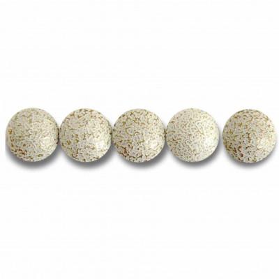 Clous Prestige Perle Fer Blanc Crépi 11mm - Par 100