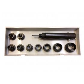 Kit Emporte Pièces auto centreur Osborne K-156 - Outils cuir