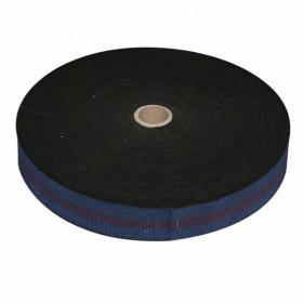 Sangle élastique Bleue GW4 60 mm, les 100 mètres - Fournitures tapissier