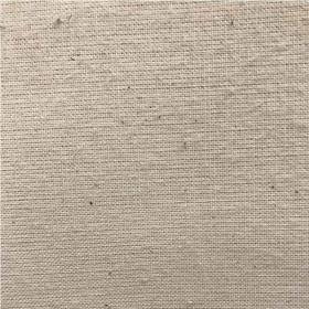 Toile blanche Non feu M1 150 g / m² le mètre - Fournitures tapissier