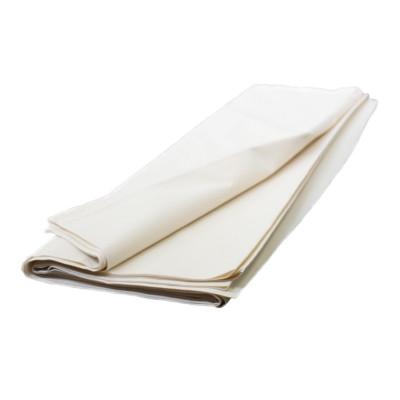 Toile blanche 160 g / m² dossé plié, les 6 mètres - Fournitures tapissier
