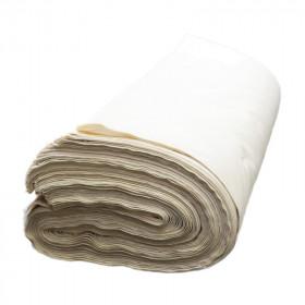 Toile blanche 180 g/m² supérieure, le rouleau de 50m - Fournitures tapissier