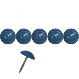 200 Clous tapissiers Prestige Bleu distant 11 mm - Clous tapissier
