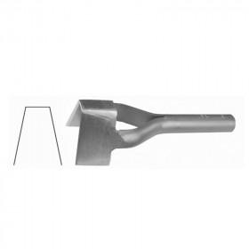 Emporte Pièce forme V 50.8mm Osborne n°152 - Outils cuir