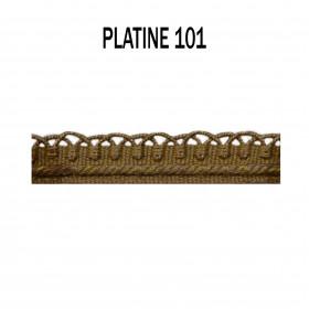Crête d'Annecy - 12mm - Platine 101 - Passementerie