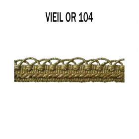 Crête d'Annecy - 12mm - Vieil Or 104 - Passementerie