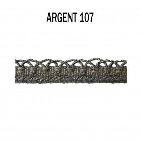 Crête d'Annecy - 12mm - Argent 107 - Passementerie