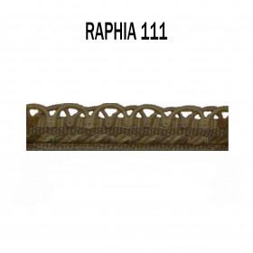 Crête d'Annecy - 12mm - Raphia 111 - Passementerie
