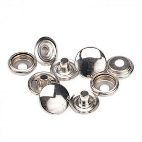 Boutons à pression 12,7mm en Acier Nickelé x 1000 - Outils cuir